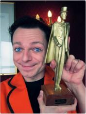 Timo Marc mit Auszeichnung Mandrake d'Or Paris