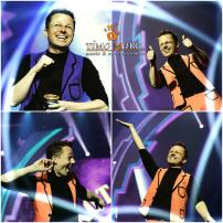 Zauberhafter Moderator Timo Marc
